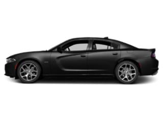 Pitch Black Clearcoat 2018 Dodge Charger Pictures Charger R/T RWD photos side view