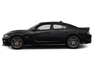 Pitch Black Clearcoat 2018 Dodge Charger Pictures Charger Sedan 4D Daytona 392 V8 photos side view