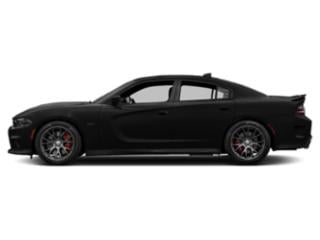 Pitch Black Clearcoat 2018 Dodge Charger Pictures Charger SRT 392 RWD photos side view