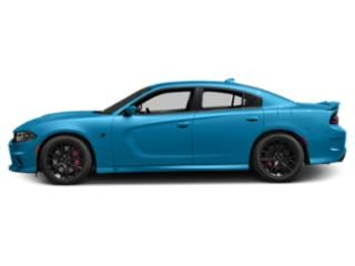 B5 Blue Pearlcoat 2018 Dodge Charger Pictures Charger SRT Hellcat RWD photos side view