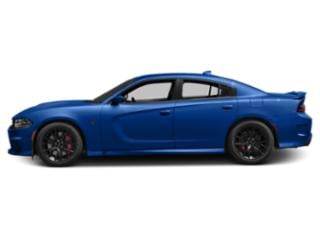 Indigo Blue 2018 Dodge Charger Pictures Charger SRT Hellcat RWD photos side view