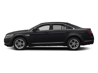 Shadow Black 2018 Ford Taurus Pictures Taurus Sedan 4D SE V6 photos side view