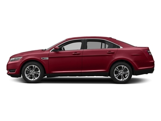 Ruby Red Metallic Tinted Clearcoat 2018 Ford Taurus Pictures Taurus Sedan 4D SEL AWD V6 photos side view