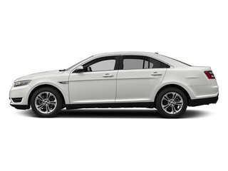Oxford White 2018 Ford Taurus Pictures Taurus Sedan 4D SE V6 photos side view