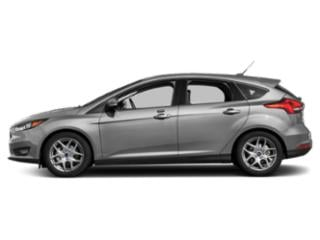 Ingot Silver Metallic 2018 Ford Focus Pictures Focus Hatchback 5D SEL photos side view