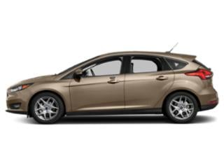 White Gold Metallic 2018 Ford Focus Pictures Focus Hatchback 5D SEL photos side view