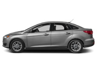 Ingot Silver Metallic 2018 Ford Focus Pictures Focus Sedan 4D S I4 photos side view