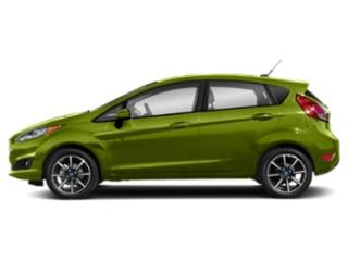 Outrageous Green Metallic Tinted Clearcoat 2018 Ford Fiesta Pictures Fiesta Hatchback 5D SE I4 photos side view