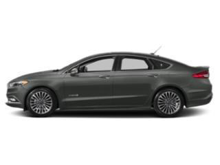 Magnetic Metallic 2018 Ford Fusion Hybrid Pictures Fusion Hybrid Titanium FWD photos side view