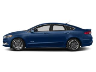 Lightning Blue 2018 Ford Fusion Hybrid Pictures Fusion Hybrid Titanium FWD photos side view