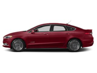 Ruby Red Metallic Tinted Clearcoat 2018 Ford Fusion Hybrid Pictures Fusion Hybrid Titanium FWD photos side view