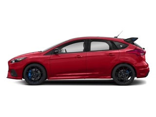 Race Red 2018 Ford Focus Pictures Focus Hatchback 5D RS AWD I4 Turbo photos side view