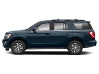 Blue Metallic 2018 Ford Expedition Pictures Expedition XLT 4x4 photos side view