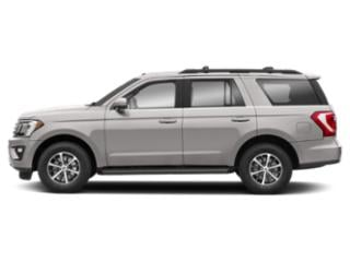White Platinum Metallic Tri-Coat 2018 Ford Expedition Pictures Expedition XLT 4x4 photos side view