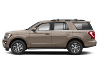 White Gold Metallic 2018 Ford Expedition Pictures Expedition XLT 4x4 photos side view