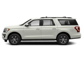 White Platinum Metallic Tri-Coat 2018 Ford Expedition Max Pictures Expedition Max Utility 4D Limited 2WD photos side view