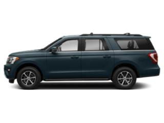 Blue Metallic 2018 Ford Expedition Max Pictures Expedition Max Utility 4D Limited 2WD photos side view