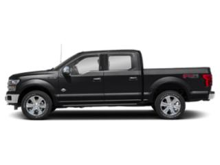 Shadow Black 2018 Ford F-150 Pictures F-150 Crew Cab Lariat 4WD photos side view