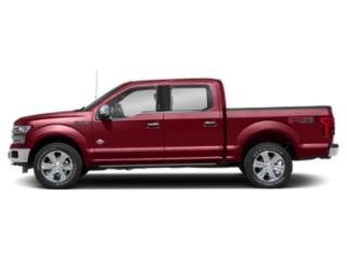 Ruby Red Metallic Tinted Clearcoat 2018 Ford F-150 Pictures F-150 Crew Cab Lariat 4WD photos side view