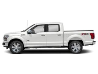 Oxford White 2018 Ford F-150 Pictures F-150 Crew Cab Lariat 4WD photos side view