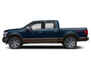 Blue Jeans Metallic 2018 Ford F-150 Pictures F-150 LARIAT 4WD SuperCrew 6.5' Box photos side view
