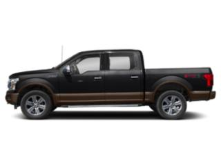 Shadow Black 2018 Ford F-150 Pictures F-150 LARIAT 4WD SuperCrew 6.5' Box photos side view