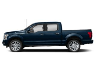 Blue Jeans Metallic 2018 Ford F-150 Pictures F-150 Crew Cab Limited EcoBoost 2WD photos side view