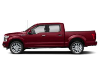 Ruby Red Metallic Tinted Clearcoat 2018 Ford F-150 Pictures F-150 Crew Cab Limited EcoBoost 2WD photos side view