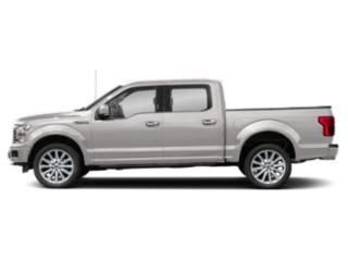 White Platinum Metallic Tri-Coat 2018 Ford F-150 Pictures F-150 Crew Cab Limited EcoBoost 2WD photos side view