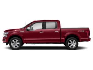 Ruby Red Metallic Tinted Clearcoat 2018 Ford F-150 Pictures F-150 Platinum 2WD SuperCrew 6.5' Box photos side view