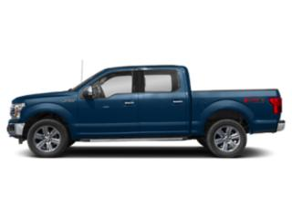 Lightning Blue 2018 Ford F-150 Pictures F-150 LARIAT 4WD SuperCrew 6.5' Box photos side view