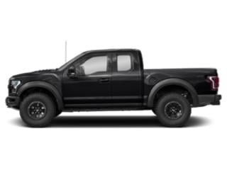 Shadow Black 2018 Ford F-150 Pictures F-150 SuperCab Raptor 4WD photos side view