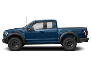 Lightning Blue 2018 Ford F-150 Pictures F-150 SuperCab Raptor 4WD photos side view