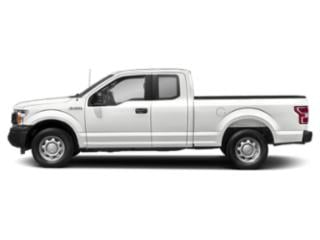 Oxford White 2018 Ford F-150 Pictures F-150 LARIAT 4WD SuperCab 8' Box photos side view