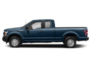 Blue Jeans Metallic 2018 Ford F-150 Pictures F-150 LARIAT 4WD SuperCab 8' Box photos side view