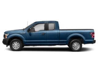 Lightning Blue 2018 Ford F-150 Pictures F-150 XL 2WD SuperCab 8' Box photos side view