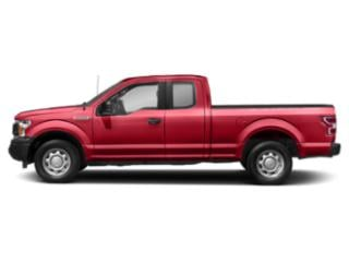 Race Red 2018 Ford F-150 Pictures F-150 LARIAT 4WD SuperCab 8' Box photos side view