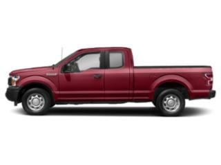 Ruby Red Metallic Tinted Clearcoat 2018 Ford F-150 Pictures F-150 LARIAT 4WD SuperCab 8' Box photos side view