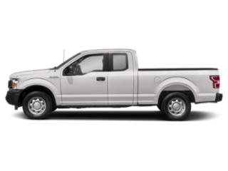 White Platinum Metallic Tri-Coat 2018 Ford F-150 Pictures F-150 LARIAT 4WD SuperCab 8' Box photos side view