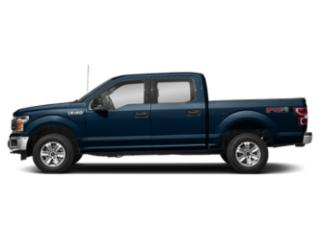 Blue Jeans Metallic 2018 Ford F-150 Pictures F-150 Crew Cab XLT 4WD photos side view