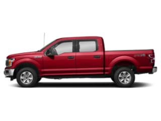 Race Red 2018 Ford F-150 Pictures F-150 Crew Cab XLT 4WD photos side view
