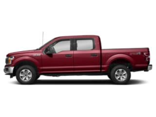 Ruby Red Metallic Tinted Clearcoat 2018 Ford F-150 Pictures F-150 Crew Cab XLT 4WD photos side view