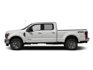 Oxford White 2018 Ford Super Duty F-250 SRW Pictures Super Duty F-250 SRW Crew Cab King Ranch 4WD photos side view