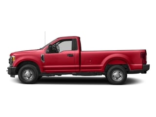 Race Red 2018 Ford Super Duty F-250 SRW Pictures Super Duty F-250 SRW XL 2WD Reg Cab 8' Box photos side view
