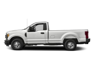 Oxford White 2018 Ford Super Duty F-250 SRW Pictures Super Duty F-250 SRW XL 2WD Reg Cab 8' Box photos side view