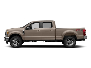 White Gold Metallic 2018 Ford Super Duty F-350 SRW Pictures Super Duty F-350 SRW LARIAT 4WD Crew Cab 8' Box photos side view