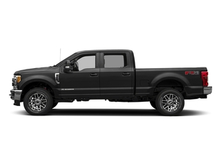 Magnetic Metallic 2018 Ford Super Duty F-350 SRW Pictures Super Duty F-350 SRW LARIAT 4WD Crew Cab 8' Box photos side view