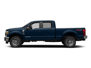 Blue Jeans Metallic 2018 Ford Super Duty F-350 SRW Pictures Super Duty F-350 SRW LARIAT 4WD Crew Cab 8' Box photos side view