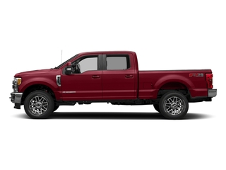 Ruby Red Metallic Tinted Clearcoat 2018 Ford Super Duty F-350 SRW Pictures Super Duty F-350 SRW LARIAT 4WD Crew Cab 8' Box photos side view