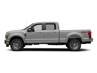 Ingot Silver Metallic 2018 Ford Super Duty F-350 SRW Pictures Super Duty F-350 SRW LARIAT 4WD Crew Cab 8' Box photos side view